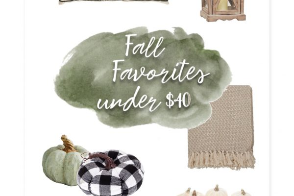 Fall Favorites Under $40