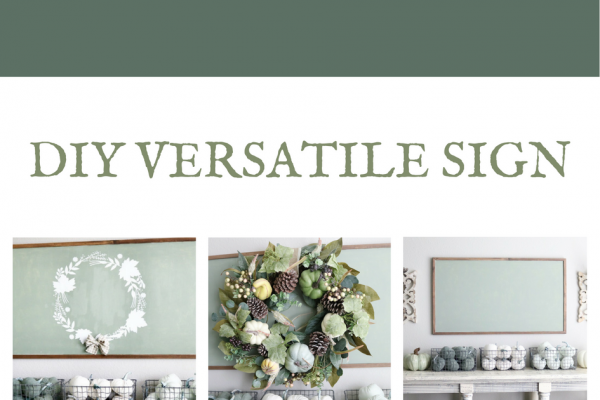 DIY Versatile Sign