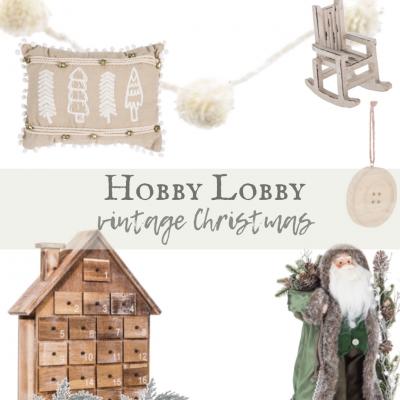 Hobby Lobby Vintage Christmas