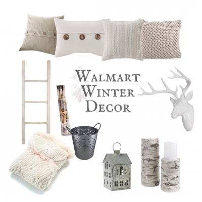 Walmart Winter Decor
