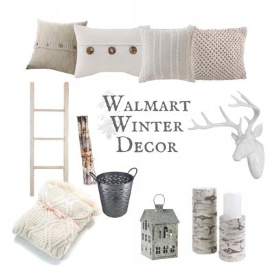 Walmart Winter Decor
