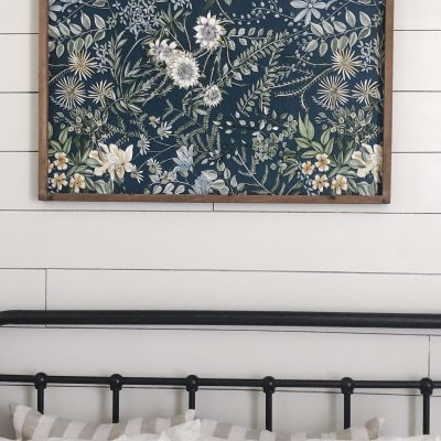 DIY Wallpaper Sign