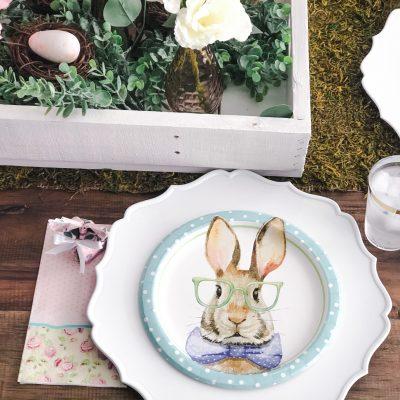 Vintage Spring Tablescape